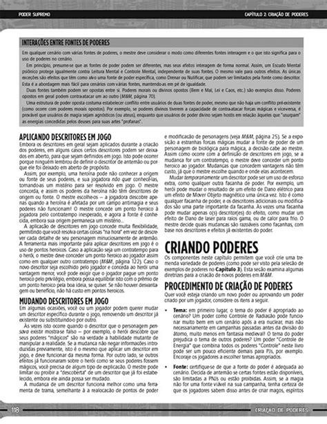 Poder Supremo - R$ 45,00   RPGMaisBarato
