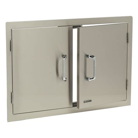 Stainless Steel Outdoor Cabinet Doors Bull Stainless Steel Door Outdoor Kitchens At Hayneedle