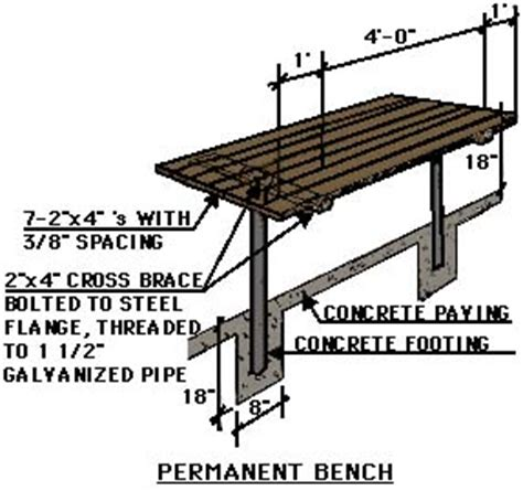 wood bench detail benches detail drawing decoration news