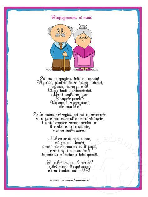 lettere per nonni poesia sui nonni con attestato di ringraziamento mamma e
