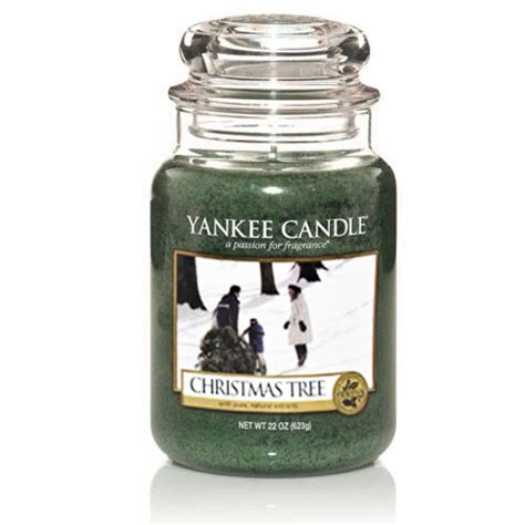 yankee candle christmas tree large jar scented candle ebay
