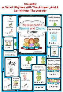 Rhymes With Table by Best 25 Memorizing Multiplication Facts Ideas On