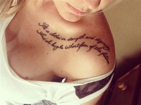 tattoo for girl collar bone 27 fabulous collar bone tattoos sortra