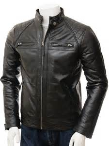 Leather Jacket S Black Biker Leather Jacket Sibiu Caine