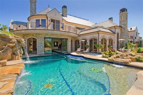 houses with pools dream house a pool in the front of the house is a bit over the top but this is still