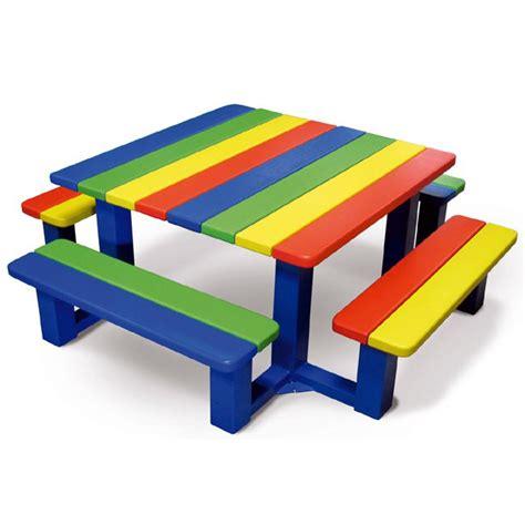 Table Pique Nique Enfant Bois