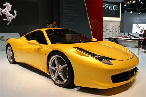 ferrari yellow 458 ferrari 458 italia released secret entourage