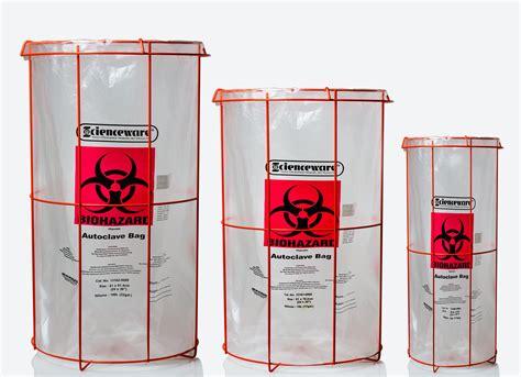 Despite Warning Bag Still At Large by Bel Clavies Biohazard Bag Holder For 12w X 24 In H