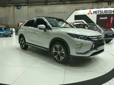 mitsubishi uae 2018 mitsubishi eclipse cross at the dubai international