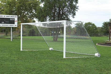 Soccer Goal football compatible official size soccer goal net bison