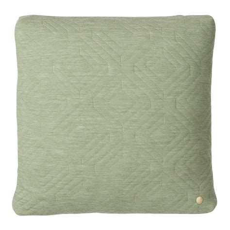 Quilted Chair Cushions by Buy Ferm Living Quilted Cushion 45x45cm Green Amara
