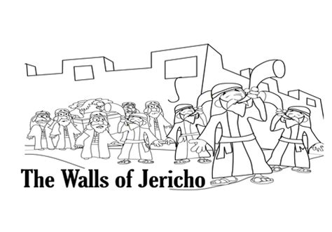 coloring page for walls of jericho wall of jericho coloring walls fall down pages grig3 org