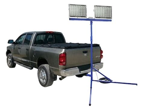 truck mounted work lights cables lights larson electronics 800 watt led trailer