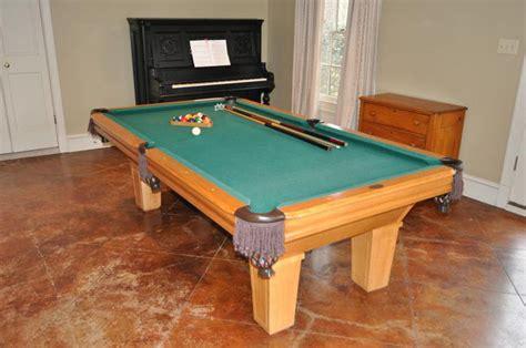 kasson pool tables 8 kasson oak american