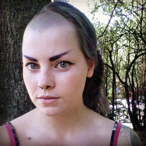 bald haircut story 21 best hair fetish images on pinterest shaving close