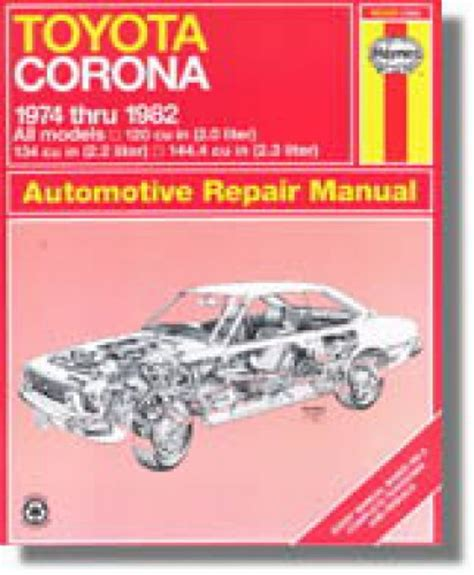 what is the best auto repair manual 1974 pontiac gto engine control haynes toyota corona 1974 1982 auto repair manual