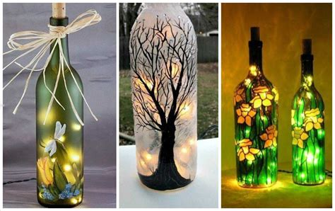 decoracion de botellas de vidrio con fotos botellas de vidrio decoradas imagenes planos con decoupage