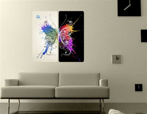 modern wall paintings 17 contemporary wall ideas to give a lively