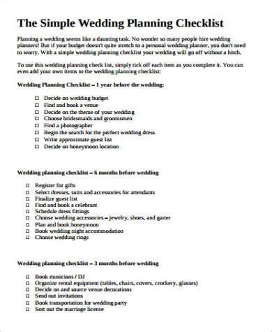 sample wedding planning checklist congratulations you re engaged