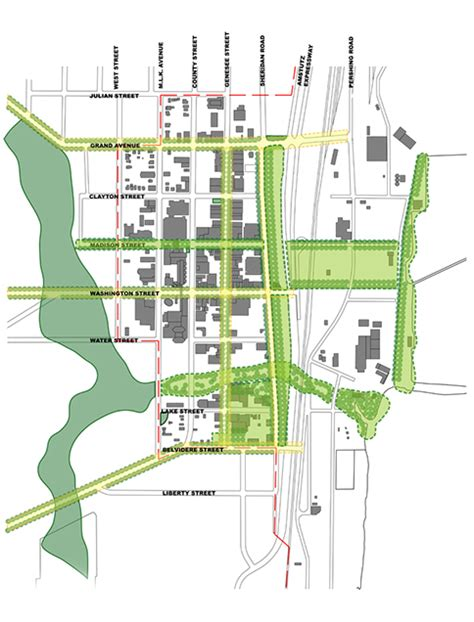 design guidelines urban open space waukegan downtown and lakefront master plan
