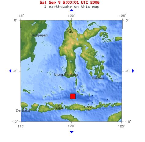 earthquake flores strong earthquake in flores sea the musings of chris samuel
