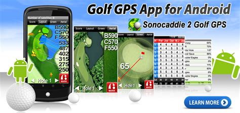 golf gps apps for android sonocaddie golf gps app for smartphones