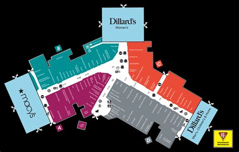 summit mall map mall map of summit mall a simon mall fairlawn oh