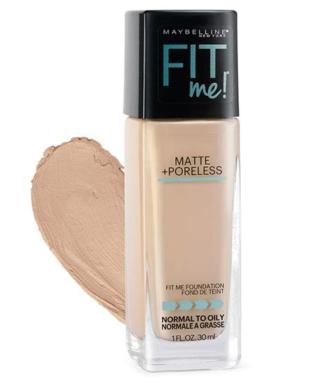 Maybelline Fit Me Foundation maybelline new york fit me foundation 115 ivory 30 ml buy maybelline new york fit me foundation