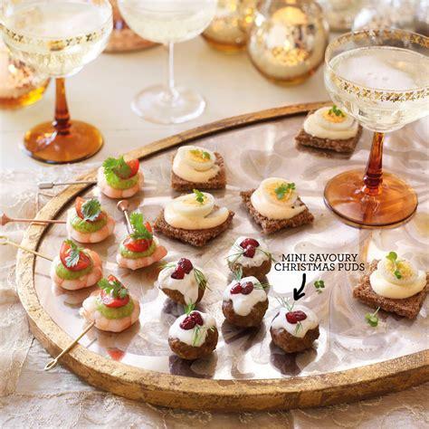 mini canape ideas mini savoury puds canape recipes housekeeping