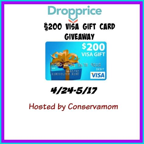 Add Money To Visa Gift Card - 200 visa gift card giveaway budget earth bloglovin