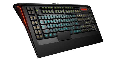 Steelseries Apex 350 Led Gaming Keyboard apex 350 rgb illuminated low profile gaming keyboard steelseries