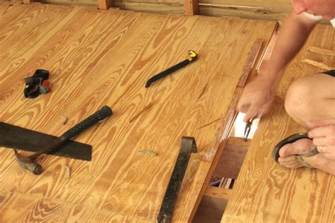 Hardwood Floor Nails A Hardwood Floor Repair