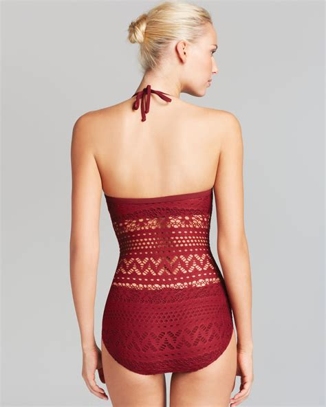 Vest Hoodie Robin Schulz 02 lyst robin piccone penelope bandeau one swimsuit with sheer waist in