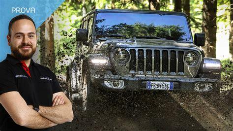 prova al volante nuova jeep wrangler al volante mito