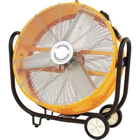 big air 24 drum fan with tilting feature cam110 110v 30 quot drum fan fans environmental control