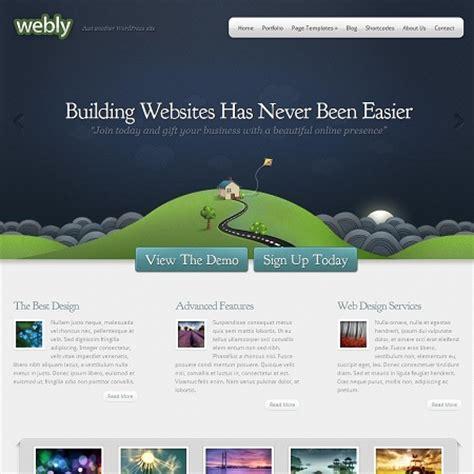 layout homepage wordpress creative business and portfolio wordpress theme webly