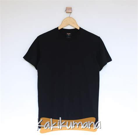 Kaos Black Black by Kaos Polos Black Kaos Polos Indonesia