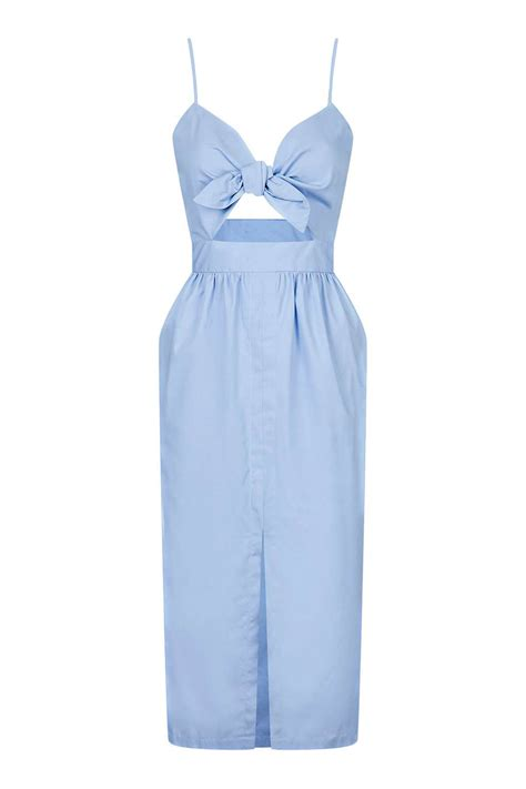Topshops Bow Back Dress by Bow Front Sun Dress Topshop