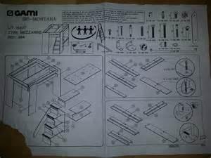 notice de montage lit mezzanine conforama table de lit