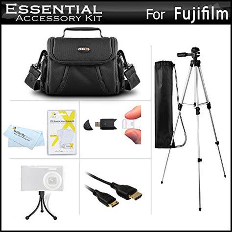 Fujifilm Finepix S4600 Lensa 24 624mm 16 Mp Hitam starter accessories kit for the fuji fujifilm finepix