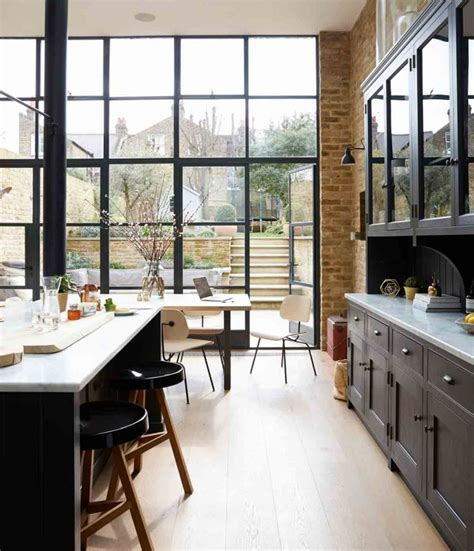 Cool Crittall Style Doors, Windows And Room Dividers