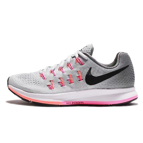 Pink Grey Shoes wmns nike air zoom pegasus 33 grey pink womens running