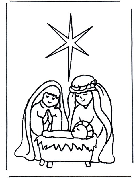 Jesus In Crib by Pin Baby Crib Colouring Pages Page 2 On