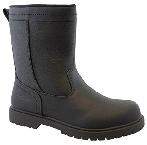 khombu mens boots khombu mens chicago insulated winter boot authenticboots