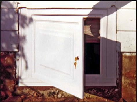 Building A Crawl Space Door by Planning Ideas Crawl Space Doors Crawl Space