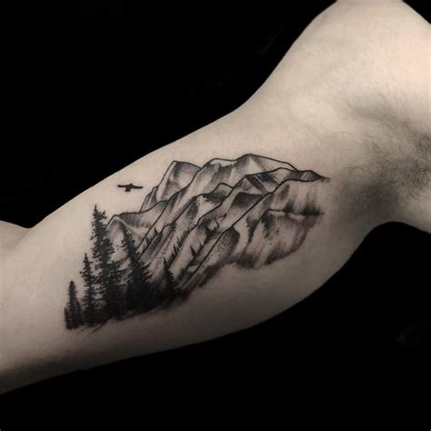 70 impressive mountain tattoo designs keeping in touch