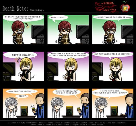 funny death death note images funny death note wallpaper and