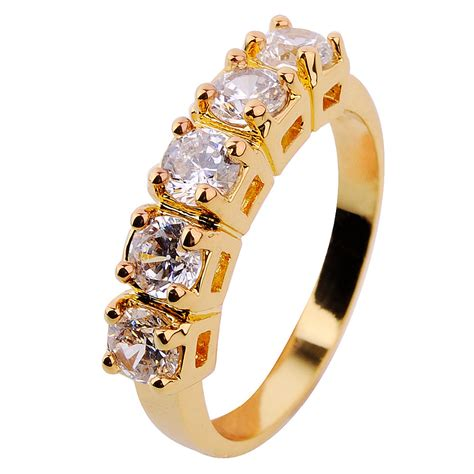 size6 7 8 9 10 fashion jewelry finger rings s10kt