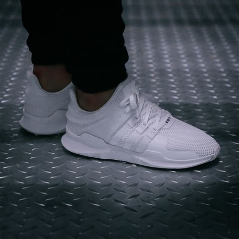 Adidas Equipment Support Black White Pink new adidas originals eqt support adv black pink white shoes