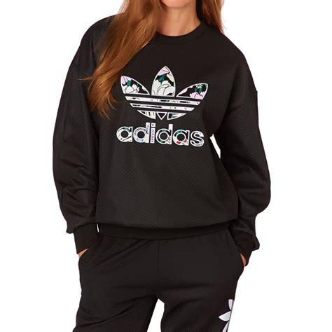Sweatshirt Adidas 1 adidas originals trf sweatshirt black free uk delivery
